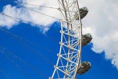 El ojo de Londres es la noria más alta de Europa Fotografía de archivo