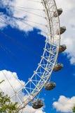 El ojo de Londres es la noria más alta de Europa Imagen de archivo