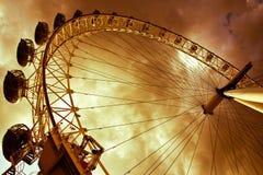 El ojo de Londres, Londres, Inglaterra fotos de archivo libres de regalías