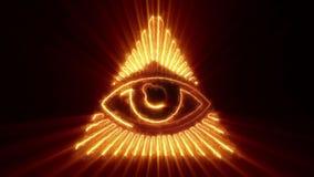 El ojo del lazo de la providencia libre illustration