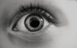 El ojo necesita su tiempo imagen de archivo