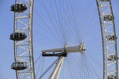 El ojo Reino Unido de Londres, el 14 de diciembre de 2016: El ojo de Londres en el río Támesis en el capital de Londres Fotografía de archivo