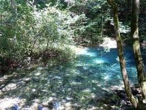 El ojo uno de Beiu natural del lago de los lugares más hermosos fotos de archivo