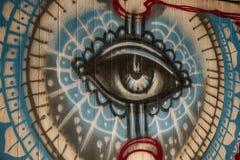 El ojo ve todos fotos de archivo