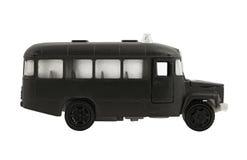 El omnibus negro. Fotografía de archivo libre de regalías