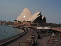 El operahouse en Sydney es famoso Imagen de archivo