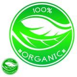 El 100% orgánico Fotos de archivo