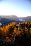 El orgullo de la mañana en montaña Foto de archivo libre de regalías