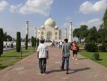 El orgullo de Taj Mahal de la India Imágenes de archivo libres de regalías