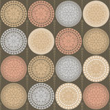 El Ornamental diseña círculos Imagen de archivo libre de regalías