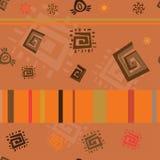 El ornamento africano Imágenes de archivo libres de regalías