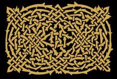 El ornamento céltico libre illustration