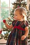 El ornamento de la Navidad imagenes de archivo