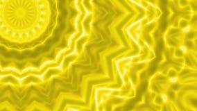 El ornamento geométrico, papel pintado, líneas iridiscentes caleidoscópicas, película rápida emite almacen de video