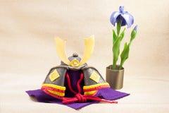 El ornamento japonés del día de fiesta para el día de los muchachos llamó Kodomo ningún hola imagen de archivo libre de regalías