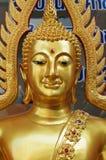 El oro Buda Imagen de archivo libre de regalías