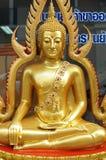 El oro Buda Foto de archivo