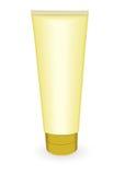El oro compone el tubo ilustración del vector