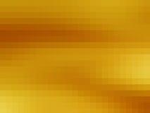 El oro cubica el fondo abstracto Foto de archivo libre de regalías