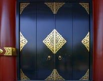 El oro de la puerta de Japón adorna Fotografía de archivo