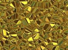El oro empiedra fondos brillantes del alivio superficial libre illustration