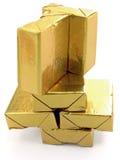 El oro la torre Fotos de archivo libres de regalías