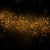 El oro protagoniza el fondo Imagen de archivo