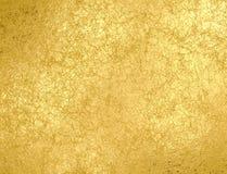 El oro rasguñó el fondo de la hoja con reflejos de luz ilustración del vector