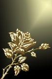 El oro se levantó Fotos de archivo