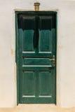 El OS Santorini de las puertas Foto de archivo