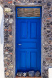 El OS Santorini de las puertas Fotos de archivo libres de regalías