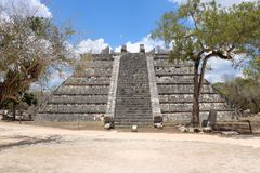 El Osario, Chichen Itza Royalty Free Stock Images