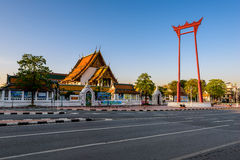 El oscilación gigante, señal de Bangkok, Bangkok, Tailandia Fotos de archivo libres de regalías