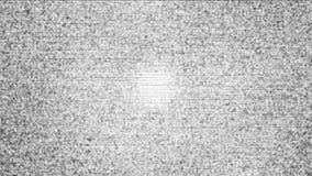 El oscilar, señal de la TV analógica ilustración del vector