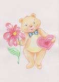El oso bueno stock de ilustración