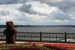 El oso de Yaroslavl Fotografía de archivo libre de regalías