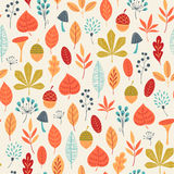 El otoño colorea el modelo Imágenes de archivo libres de regalías