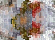 El otoño colorea el modelo, ejemplo, fondo abstracto stock de ilustración