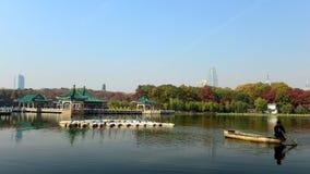 El otoño del lago del este Foto de archivo