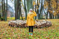 El otoño ha venido Foto de archivo
