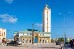 EL Ouatia sulla costa sudoccidentale del Marocco fotografia stock