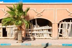 EL Ouatia sulla costa sudoccidentale del Marocco fotografie stock