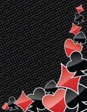 El póker abstracto se adapta al fondo Imagen de archivo