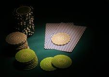 El póker se divierte el extracto Imagen de archivo