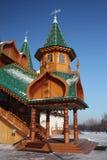El pórtico. El palacio en el estado Kolomenskoe. Fotografía de archivo