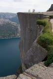 El púlpito, Noruega Foto de archivo libre de regalías