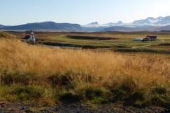 El país de Islandia Imágenes de archivo libres de regalías
