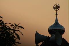 El país tradicional del Islam de la mezquita fotos de archivo libres de regalías