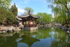 Pabellón chino en Pekín imágenes de archivo libres de regalías