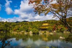 El pabellón de oro Japón Fotos de archivo